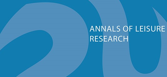 Annals of Leisure Research: Call for Special Issues